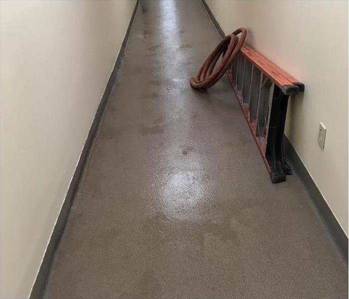 Water Leak from Storm Damage in a Commercial Building in Gadsden, AL  After