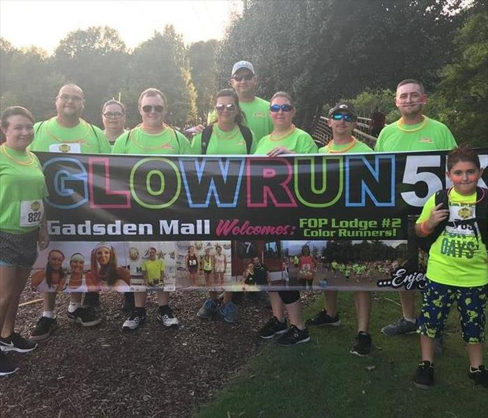Hot Pursuit Glow Run 2018